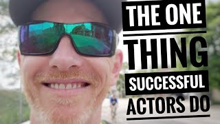 What's the biggest difference between you and a successful working actor