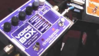 Electro-Harmonix Voice Processor Demos by Kendra Morris