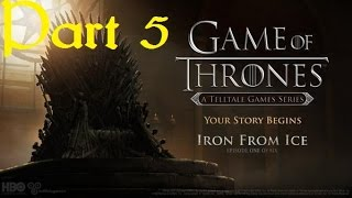 Stabbed in the throat??? why?? Game of Thrones Episode 1 iron form ice part 5