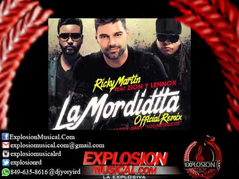 Ricky Martin Ft. Zion & Lennox - La Mordidita (Official Remix) (www.explosionmusical.com)