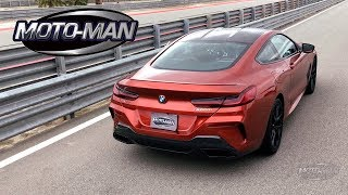 2019 BMW M850i On Track FIRST DRIVE REVIEW & TECH REVIEW