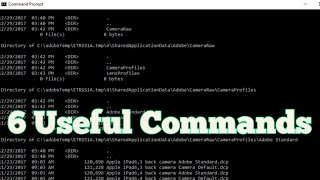 Most Useful 6 Commands of CMD | Step-By-Step-Tutorial - Techn Trainer
