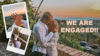 We are engaged!! full proposal video + ...