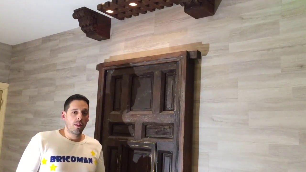 Restauraci n de maderas puerta antigua youtube for Restauracion de puertas antiguas