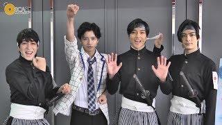 2017年11月に結成した男劇団 青山表参道Xの 旗揚げ公演「SHIRO TO...