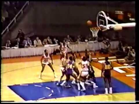 1984 IHSA Boys Basketball Class AA Semifinal Game: Chicago (Simeon) vs. Aurora (West Aurora)