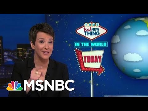 Best New Thing: In Other News, Local Man Impeached | Rachel Maddow | MSNBC