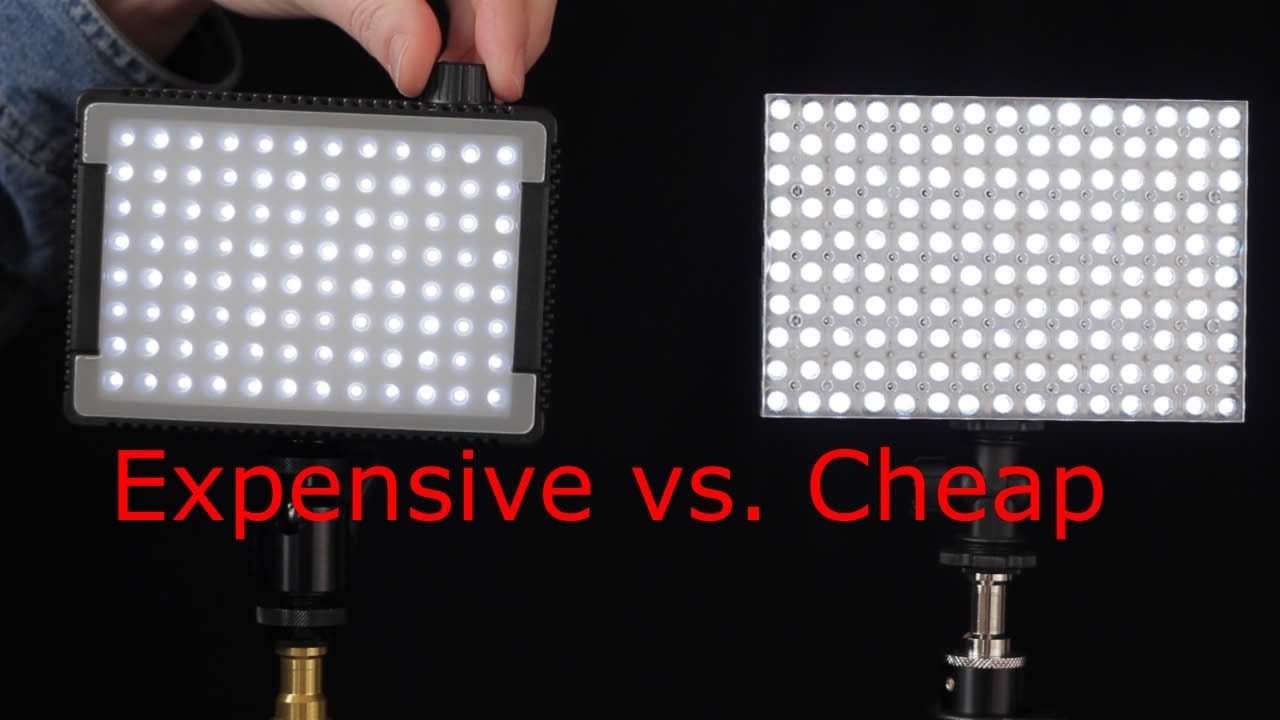 Small LED Light Panel Showdown   YouTube