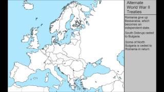 Alternate World War 2 Treaties