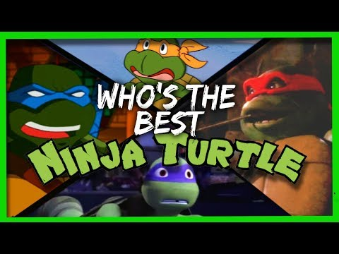Which Ninja Turtle are YOU!?