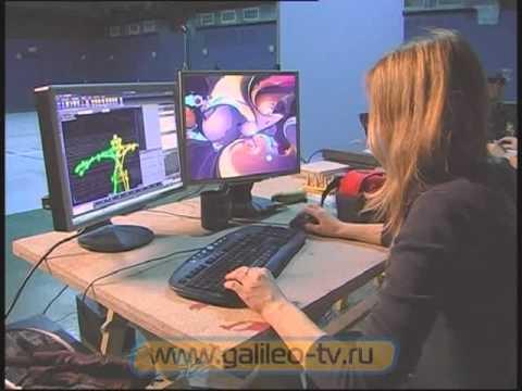 Галилео. Motion capture (технология анимации).