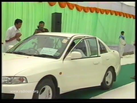Darshan of Sathya Sai baba - Part 140 | Sai Baba's Latur, Chakur &  Nanded  Visit - 15 July 2001