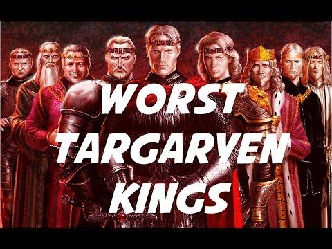 Worst Targaryen Kings of Westeros