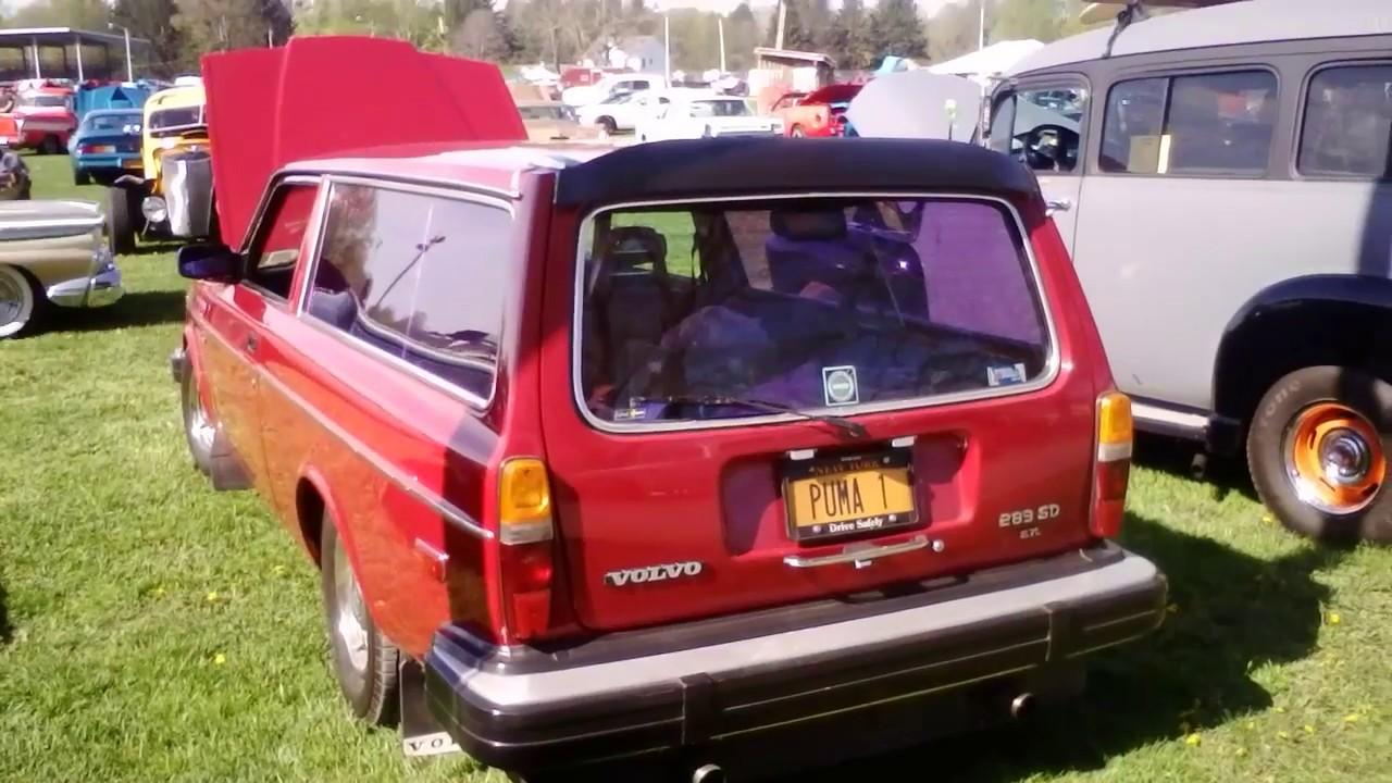 CRAZY Volvo 240 Wagon 2 Door Conversion/Chevy V8 Swap