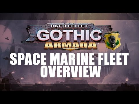 Battlefleet Gothic: Armada - Space Marine fleet overview