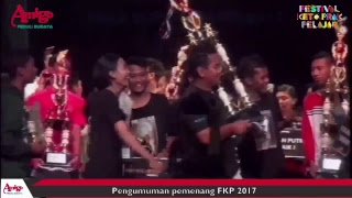Video Official FKP 2017 - Pengumuman Pemenang - Amigo Peduli Budaya -  Tingkat SMA/SMK download MP3, 3GP, MP4, WEBM, AVI, FLV September 2018