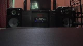 Mini system mais potente da sony shake 4000 watts de rms