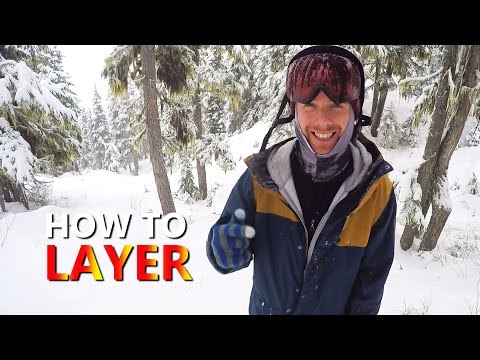 How To Layer & Stay Warm On The Mountain