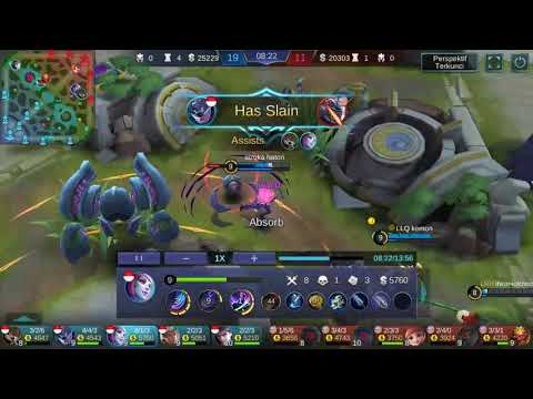 Indonesia vs malaysia, tripel kill2x game play and tutorial selena., thumbnail