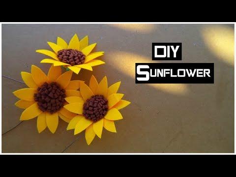 DIY: Felt Sunflower | My Crafting World