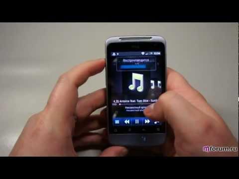 Обзор HTC Salsa - камера, музыкальный и видеоплеер