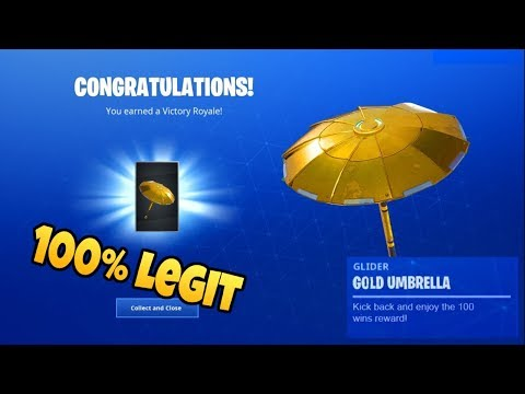 How To Get The Golden Umbrella