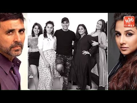 Akshay Kumar And Vidya Balan Started Shooting For R. Balki Upcoming Film | YOYO Times