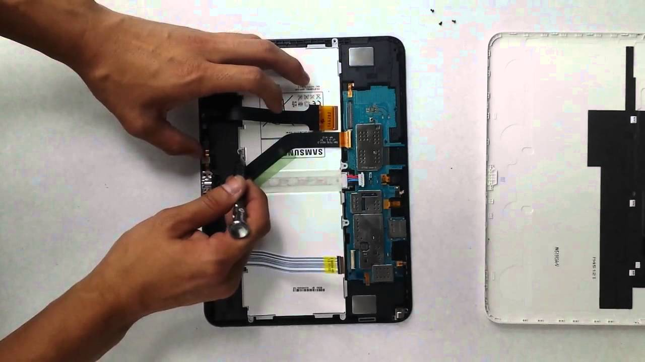 samsung galaxy tab 4 battery replacement   youtube