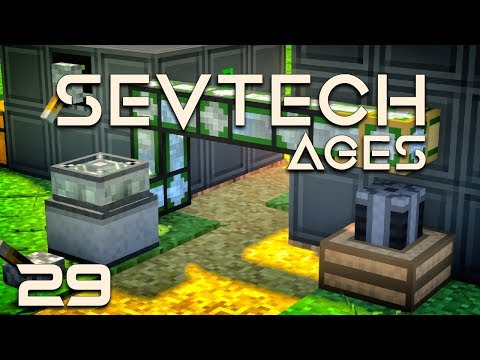 SevTech: Ages EP29 PneumaticCraft Plastic + Pressure Chamber