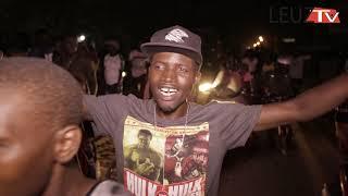 Après combat: les supporters de Modou lo fêtent leur victoire