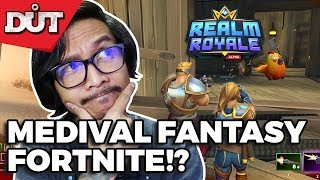 INSTEAD OF FORTNITE & PUBG!? | LET'S PLAY REALM ROYALE