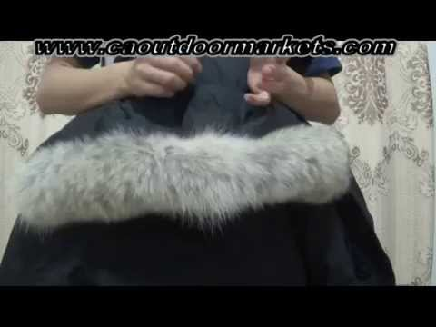 "Canada Goose langford parka replica cheap - Canada Ruse"" how to spot a fake Canada Goose - YouTube"