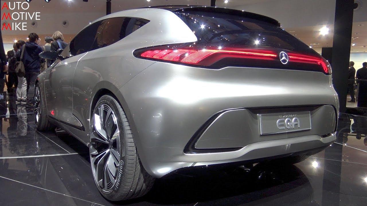 WORLD PREMIERE: Mercedes EQA Concept - IAA 2017 - YouTube