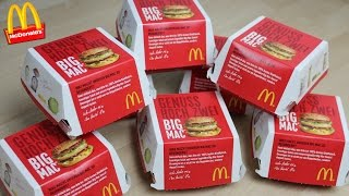 McDonalds Burger Challenge | Assimilanten