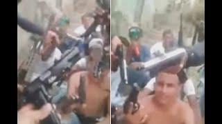 Hasta fusiles M-4 tenía esta banda venezolana acusada de descuartizamientos