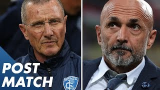 Inter 2-1 Empol | Spalletti and Andreazzoli Post Match Press Conference | Serie A