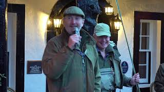 Scottish comedian Fred MacAulay starts the 2019 river Tay Salmon Fishing Season in Kenmore
