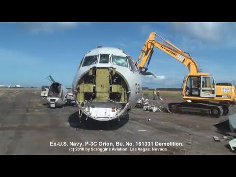 P-3C Orion Bu. No. 161331 Scrapping
