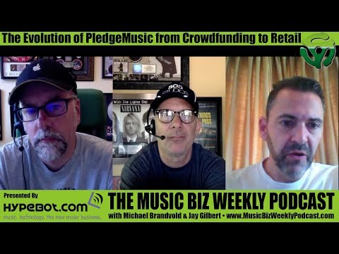 Ep. 289 The Evolution of PledgeMusic from Crowdfunding to Retail