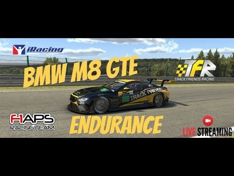 IRACING Endurance Le Mans Series | 6hrs De Nurburgring | BMW M8 GTE #269 Track Friends Racing