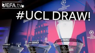 2020/21 UEFA Champions League quarter-final and semi-final draw