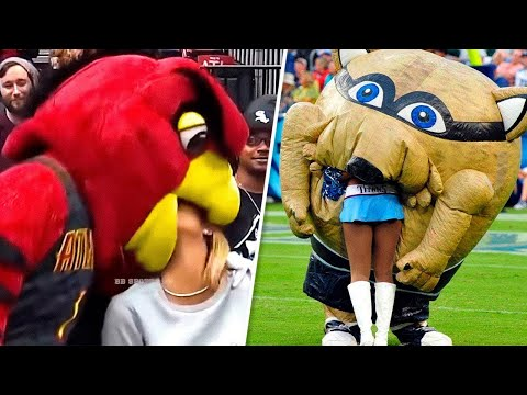 Top 20 Funniest Mascot Moments In Sports - Unbelievable Comedy Moments