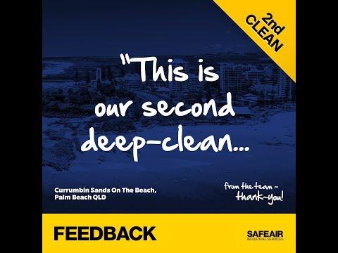 SafeAir Review | Currumbin Sands On The Beach Resort, Palm Beach Gold Coast Queensland