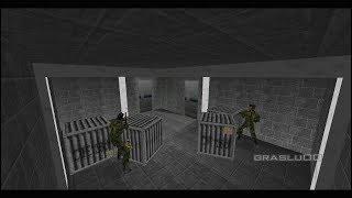 GoldenEye 007 N64 - Hidden Base - 00 Agent (Custom level)