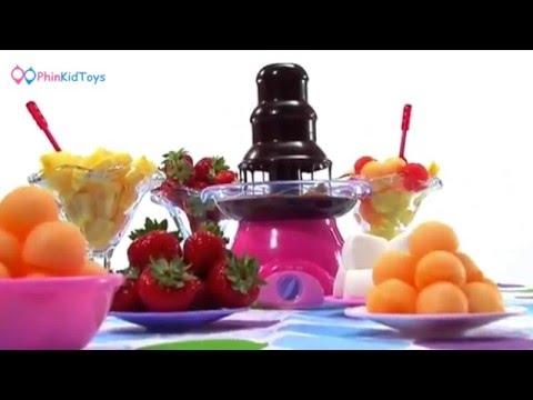 Playgo Chocolate Foundtain เครื่องทำช็อคโกแลตฟองดู