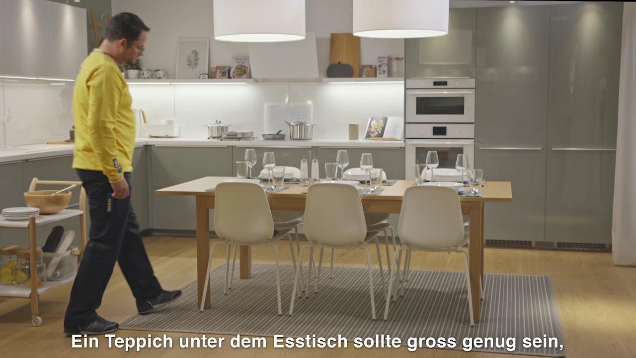 Ikea Teppich Unter Esstisch Dining Room Update Esszimmer Pinterest