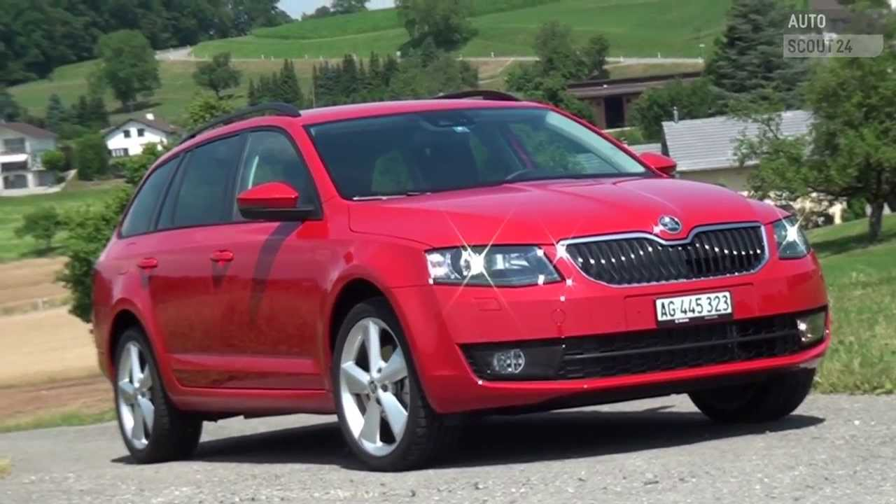 skoda octavia kombi testbericht 2013 autoscout24 youtube. Black Bedroom Furniture Sets. Home Design Ideas