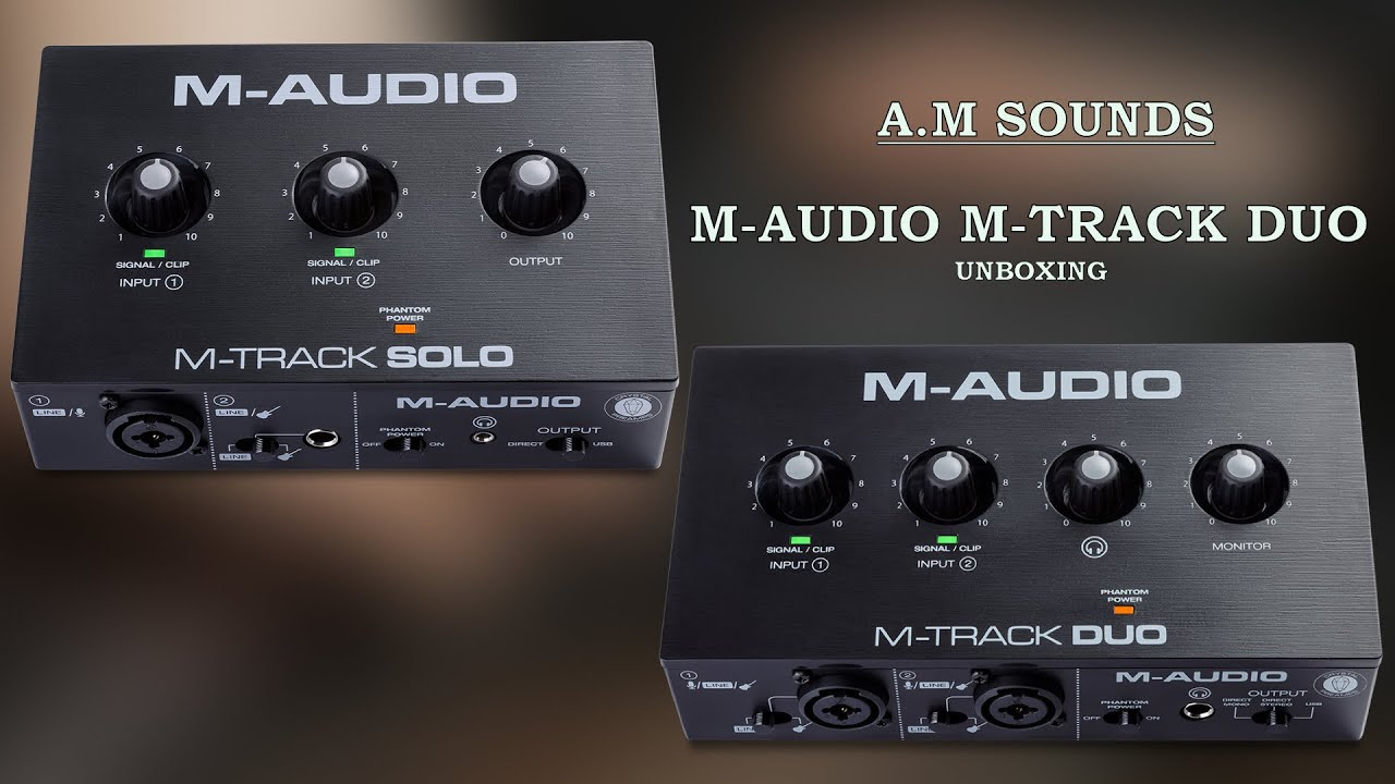 M-Audio M-Track Duo Unboxing | Cheapest Audio Interface For Beginners!