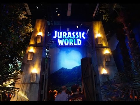 Jurassic World: The  Exhibition - Melbourne Museum  2016 HD