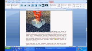 Microsoft Word - Inserting Images Into a Document